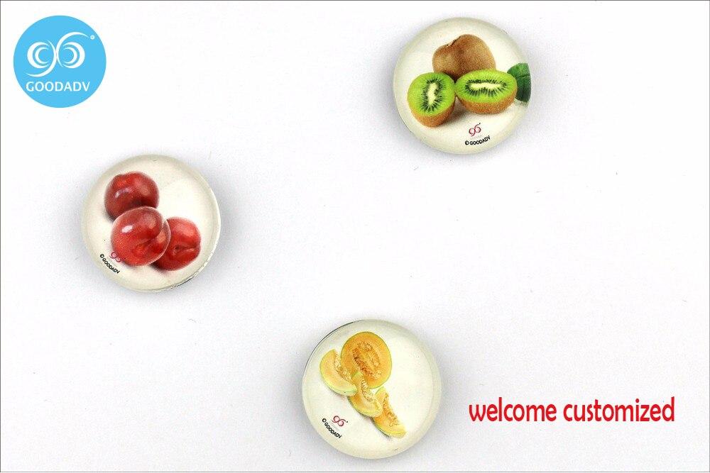 3 шт./компл. (12 шт./лот) стекло магниты на холодильник фруктов украшения детские игрушки бесплатная доставка магнит на холодильник пользовате...