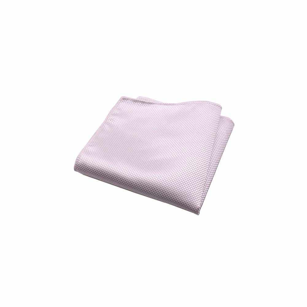Huishi 남자 hanky jacquard handkerchief 솔리드 플레인 슈트 포켓 스퀘어