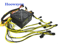 Mining Case ETH ZCASH Miner Power Supply 1600W 12V 133A Suitable For Miner R9 380 390