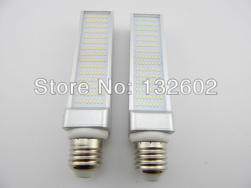 10pcs/lot Led 3014 chip lamp energy saving light bulb 120-Leds 12W LED horizontal plug lamp big E27 screw-mount lamp 50w e27 120 leds ufo light bulb
