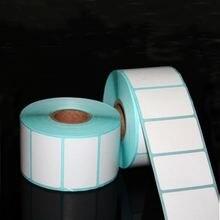 700 шт/рулон 20*10 мм клейкая термоэтикетка стикер бумаги супермаркет цена пустая прямая печать ярлыков водонепроницаемый