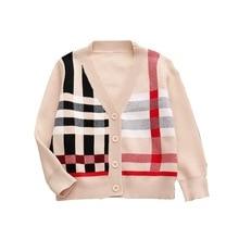 24M-10Y Brand Baby Boys Sweater Autumn Toddler Cotton Cardigans Jumper Knitwear Children Clothes Kids Coat