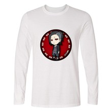 Ken Kaneki Anime Long Sleeve T shirts Fashion Casual Tee Shirt