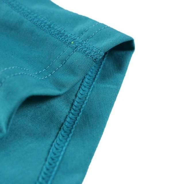 Solid Color Boxer Men U-Shaped Pouch Seamless Underwear 2018 Newest Hot Sale Comfortable Short Legs Plus Size Underpants