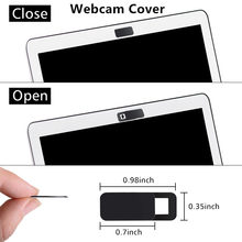 Webcam Cover,Web Camera Cover Fits for Macboook Pro iMac Laptop Smartphone for iPhone Samsung Xiaomi Huawei Protect Your Privacy(China)