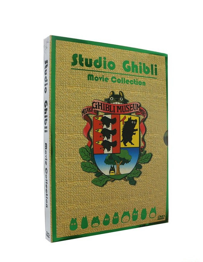 Hayao Miyazaki & Studio Ghibli Deluxe 17 Best Movie Collection 6 DVD(China)