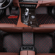 car floor mats for Jaguar XF XE XEL XFL  XK  F-PACE F-TYPE brand firm soft car accessories car styling Custom floor mats Black все цены