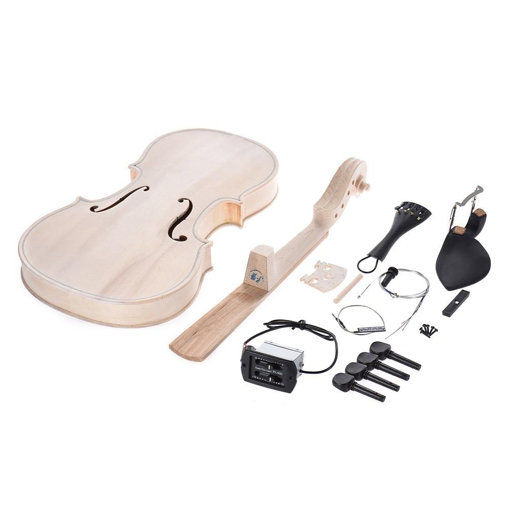 Violine Geigenhals Griffbrett für 4//4 Akustische Violine Geigenbauer DIY