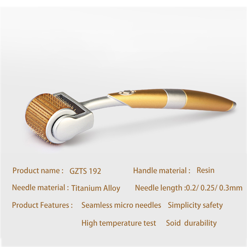 Professional Titanium ZGTS Cosmetic 0.2/0.25/0.3mm 192 Titanium Micro Needles  For Facial Nose Body Skin Care