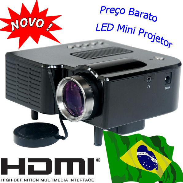 HDMI Mini Projector LED Lamp Portable Cheap Projetor USB SD Videoprojecteur Handheld Beamer PC Laptop Phone Home Used Proiettore