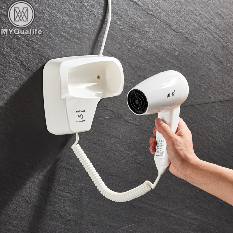 Hot Wind Blow Hair Dryer Electric Wall Mount Hairdryers
