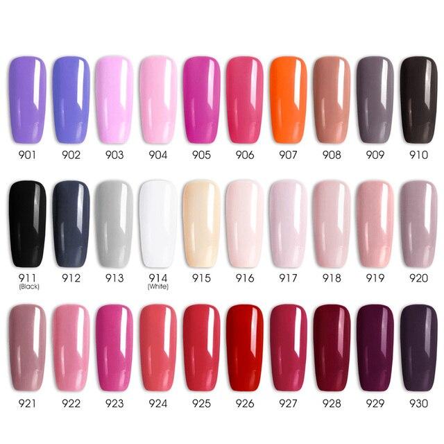 7.5ml VENALISA Nail Gel Polish High Quality Nail Art Salon 60 Colors Soak off UV LED Nail Gel Varnish Camouflage Color Lacquer 4