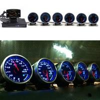 Defi Advance Link System ZD+6 Daisy Chain Gauges BF CR RS C2 Volt Water Temp Oil Temp Oil Press Tachometer RPM Turbo Boost Gauge