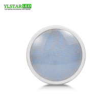 YLSTAR Free shipping SMD5730B PAR56 Swimming Pool Light AC/DC12V  12W Fountain Bulb IP68 Waterproof Underwater Outdoor