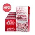 Davidsource 55mm grandes condones lisos 10 unids/lote tamaño grande condón gigante polla pene anticoncepción productos envío gratis
