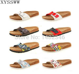 911a40f4bbbe XYSSWW summer woman Cork slippers casual shoes flip flop