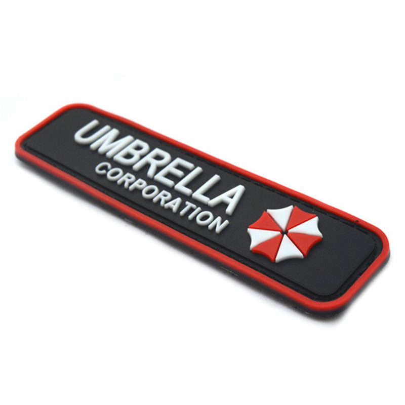 Arts,crafts & Sewing Home & Garden Nice Resident Evil Series Umbrella Corporation Pvc Badge Rubber Badges 3d Patch Applique For Clothing Cap Accessories