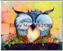 Diamond Embroidery 5D DIY Painting Owl Animal Cross Stitch Kits Rhinestone Mosaic
