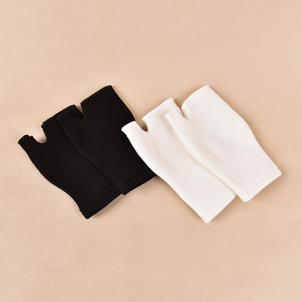 1Pair Wrist Support Bandage Removable Hand Brace Finger Splint Carpal Protection Wrap Glove Elastic Palm Hand Wrist Health Care 4