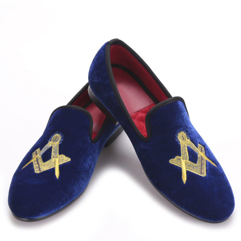 Exquisite embroidery pattern Velvet Men shoes Men Wedding and Party Loafers Men Flats Size US 5-14 Free shipping loafers men india golden silk weaving pattern crown and leaf design flats velvet shoes men loafers noble temperament