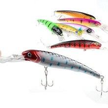 Minnow Fishing 7 color fishing The bionic lure 16.5cm/27.9g 3D eye plastic Hard Lure treble hooks outdoor