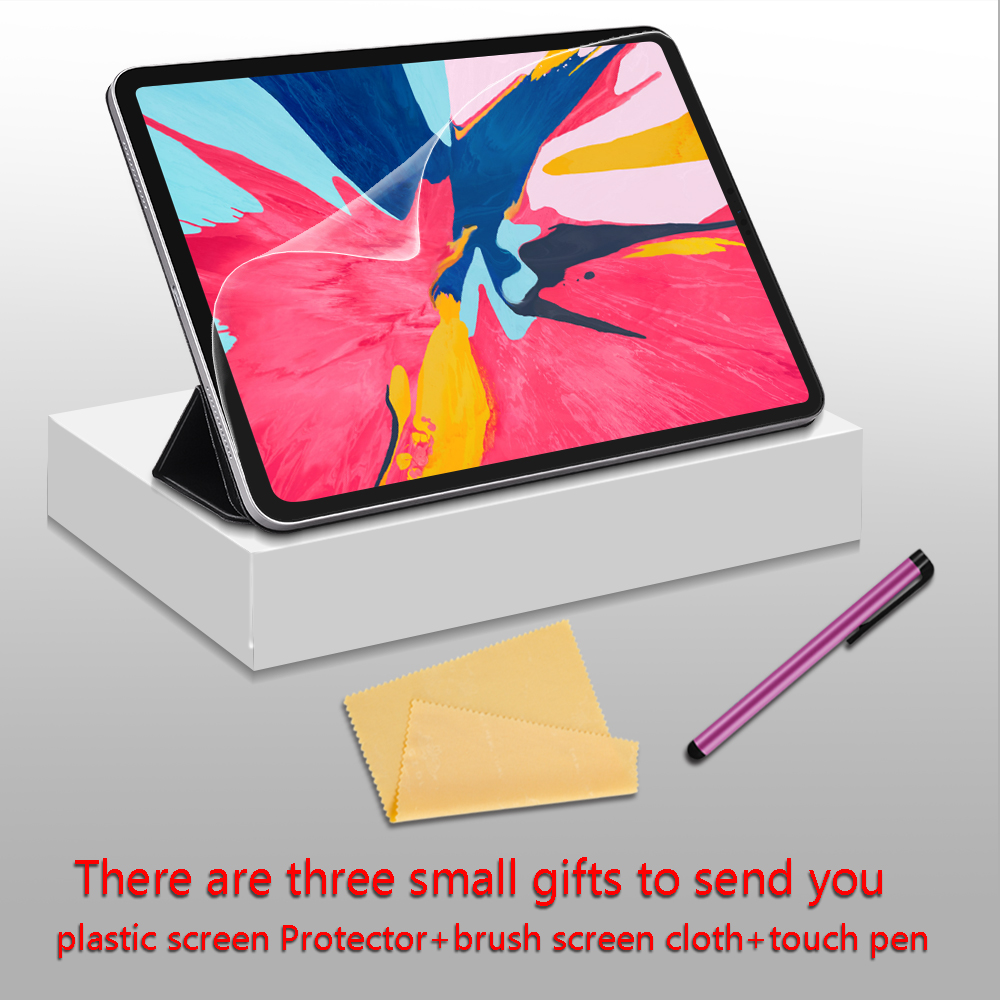 Image 2 - Case For iPad Pro 11 2018 Smart Cover For iPad Pro 12.9 2018 Case  Ultra Slim Support Attach Charge For iPad 11 12.9 inch CaseTablets