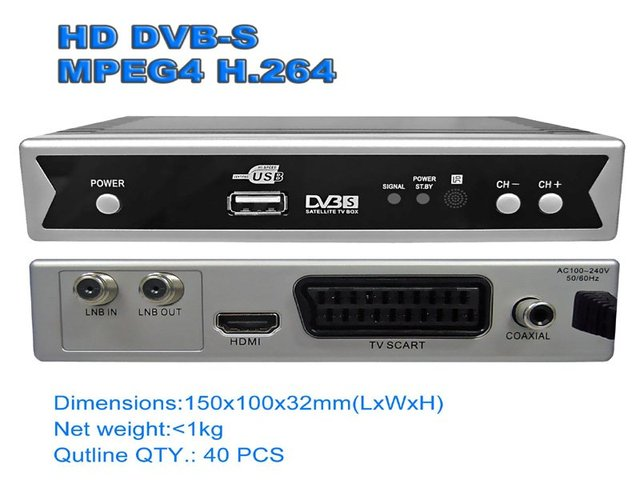 Free shipping DVB-S2  Support H.264/Mpeg4 TV Receiver Tv Tuner Freeview Receiver Set Top Box