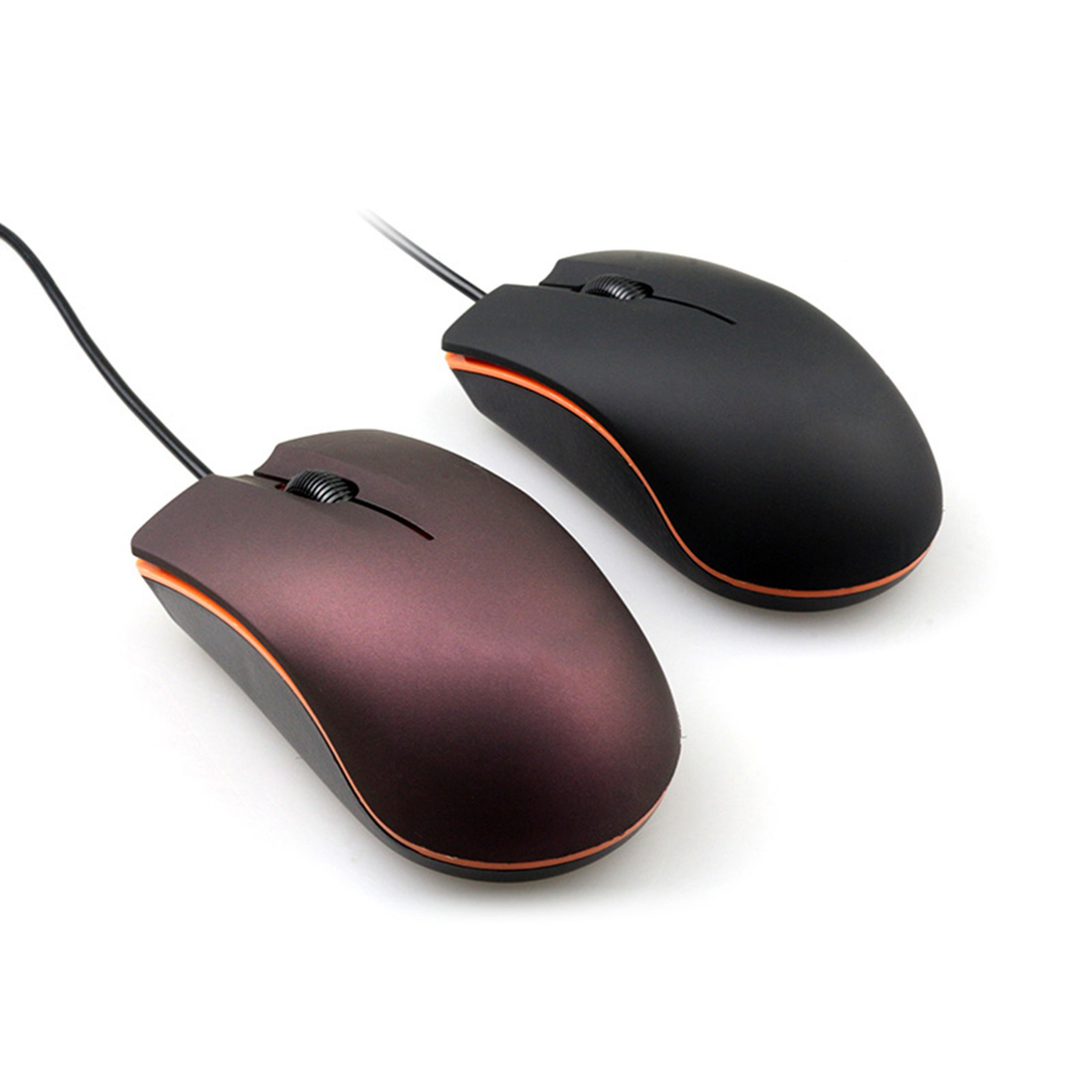 NOYOKERE New Arrival Mini Cute Wired Mouse USB 2.0 Pro Office Mouse Optical Mice For Computer PC Mini Pro Gaming Mouse