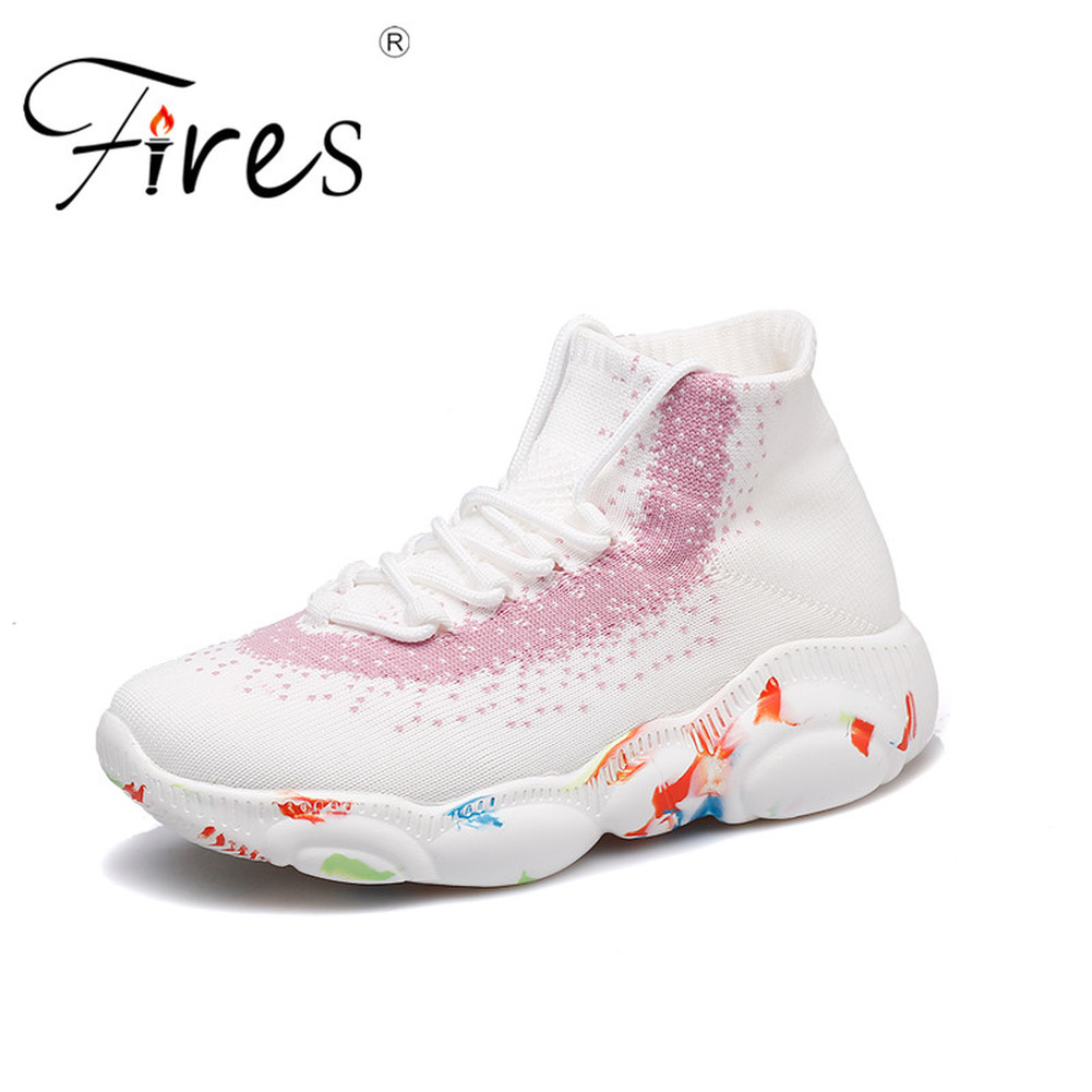 Fires Sports Shoes For Women Air Mesh Light Woman Sneaker Trend Walking Shoes Spring Zapatos Mujer Sneakers For Women FlyknitFires Sports Shoes For Women Air Mesh Light Woman Sneaker Trend Walking Shoes Spring Zapatos Mujer Sneakers For Women Flyknit