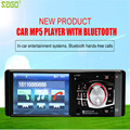 Radio Car Mp4 Mp5 Player 1 Din HD 4.1 Inch Video Player With Rearview Camera Bluetooth Remote Control Stereo Aux Fm Usb Sd 2017