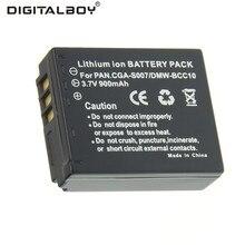 Real Capacidade 1 pcs 900 mAh 3.7 V CGA S007 CGA-S007 CGAS007 DMW-BCD10 para panasonic dmc-tz1 tz2 tz3 tz5 tz4 tz11 tz15 tz24 TZ50