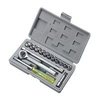 17pcs/set Hexagonal Sleeve Nut Wrench Set Hardware Repairing Tool Set AI88|Hand Tool Sets|Tools -