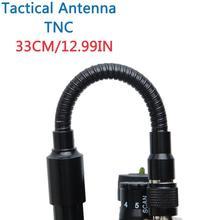 Złącze TNC U. S. Army dwuzakresowy 144/430Mhz składana antena taktyczna CS dla Kenwood TK 378 Harris AN/PRC 152 148 Marantz Walkie