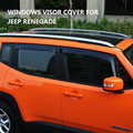Side Window Viseras Deflectores para Jeep Renegade 2015-2016 Car Styling