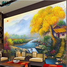Papel pintado personalizado de gran escala de beibehang todas las cosas wishful love Jin Bao treasure familia Feng Shui TV fondo de pared(China)