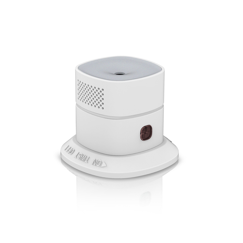 Wireless Zigbee Smart Carbon Monoxide Sensor CO detector freeshipping rs232 to zigbee wireless module 1 6km cc2530 chip