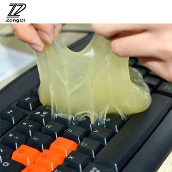 ZD Car PC Laptop Keyboard Clean Glue Magic Sticky Gel For Ford focus 2 3 mk2 mondeo mk4 Infiniti Ssangyong Honda civic 2006-2011 image