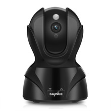 SANNCE Mini Camara CCTV 2.0 Megapixel 1080P 8XZoom IP Camera H.264 Wireless Supprt 64GB 1920*1080P Full HD WIFI IP CAM(China)