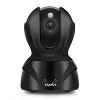 SANNCE Mini Camara CCTV 2.0 Megapixel 1080P 8XZoom IP Camera H.264 Wireless Supprt 64GB 1920*1080P Full HD WIFI IP CAM