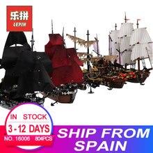 Educativos de los Piratas del Caribe 16006 negro 16009 de la nave 16016, 22001, 06057, LegoINGlys 4195 MODELO DE 70618 kits de construcción de bloques