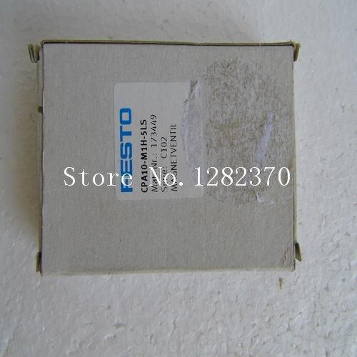 [SA] New original authentic special sales FESTO solenoid valve CPA10-M1H-5LS spot 173449 [sa] new original authentic special sales festo solenoid valve vl 5 3g d 2 c spot 151848