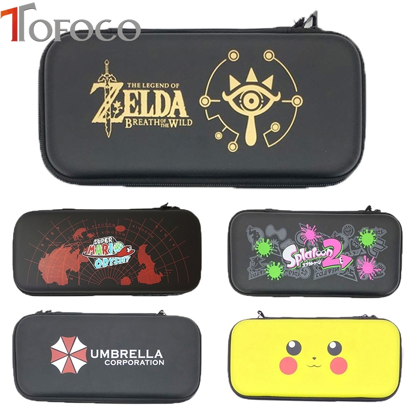 EVA Storage Bag Cover Case for Nintend Switch for NS Console with Free HD Screen Film Protector For Switch Game consoles
