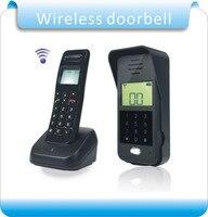 Ücretsiz kargo Kablosuz Ses Interkom Uzaktan Kilidini Tam-dubleks Interkom Dijital Ses Interkom Kapı Telefonu F1652A