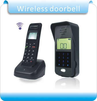 Free shipping Wireless Audio Intercom Remote Unlock  Full-duplex Intercom Digital Audio Intercom Door Phone F1652A - DISCOUNT ITEM  6% OFF All Category