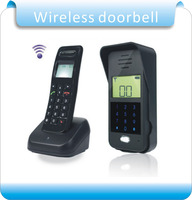 Free shipping Wireless Audio Intercom Remote Unlock Full duplex Intercom Digital Audio Intercom Door Phone F1652A