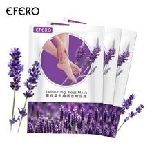 1 Pair Exfoliating Foot Mask Perawatan Kaki Lavender Masker Peeling Kutikula Perawatan Kaki Krim Kaki Masker untuk Kaki Kaus Kaki untuk Pedicure EFERO