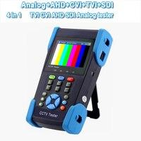 CCTV тестер Поддержка HD камеры TVI CVI AHD SDI 3,5 дюймов lcd 5в1 HD коаксиальный тестер