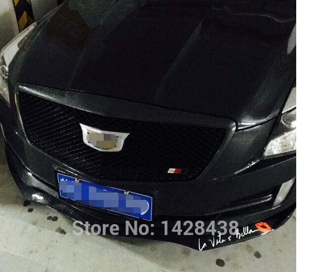 1PC ALL BLACK HEAVY MESH GRILLE GRILL For CADILLAC ATS