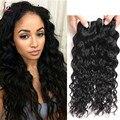 4 Bundles Water Wave Malaysian Virgin Hair Ocean Wave Human Hair Extensions 8A Malaysian Water Wave Virgin Hair Bundles Deals