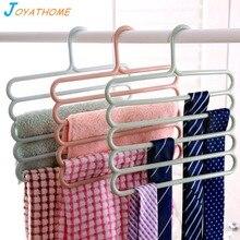 Joyathome Kids Multi-Layer Pants Rack Non-Slip Children Hanger Wardrobe Storage Hanging Clothes